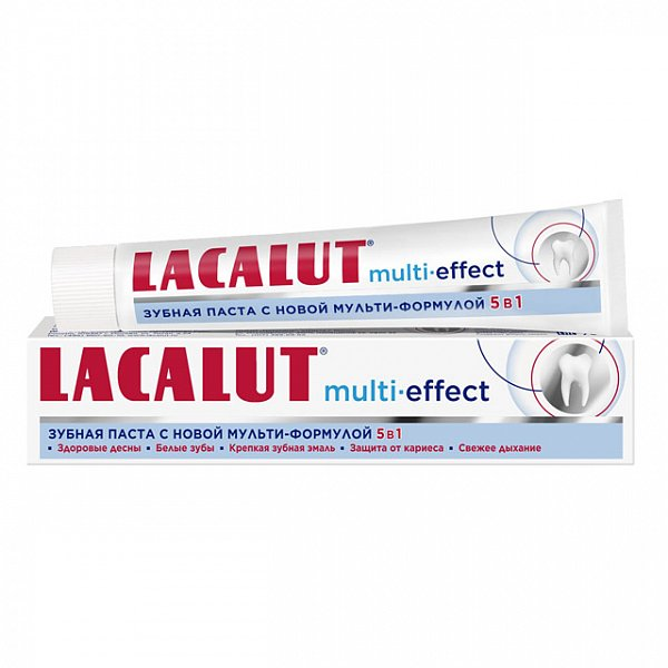 Lacalut Multi-Effect Зубная паста 75 мл